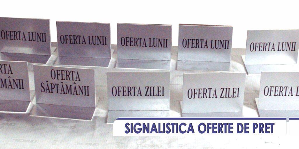 SIGNALISTICA OFERTE DE PRET